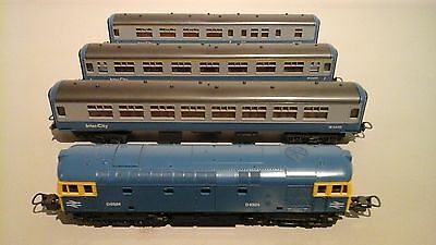 Lima ho scale train and carriages