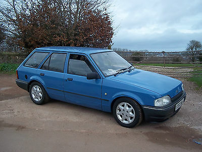 1987 FORD ESCORT 5DR ESTATE 1.6 XR2 CVH ON TWIN 40's WITH RS TURBO LSD