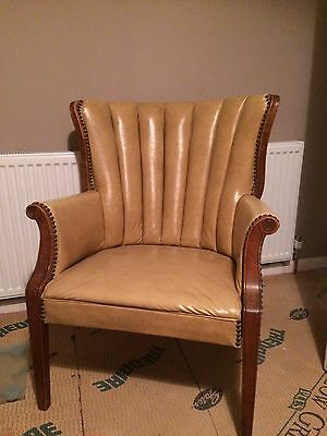 leather chair Armchair
