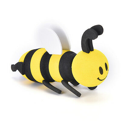 Cute Car Antenna Toppers Smiley Honey Bumble Bee Aerial Ball Antenna Topper TO