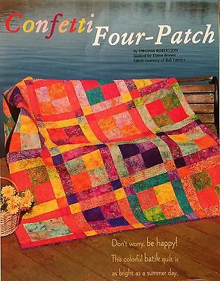 Quilt Pattern from Magazine/Book - Confetti Four-Patch