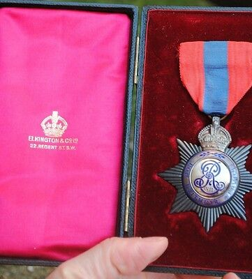 Edward VII imperial service medal star type