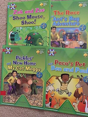 Set of 4 Paperback Books Project X Oxford Reading Tree