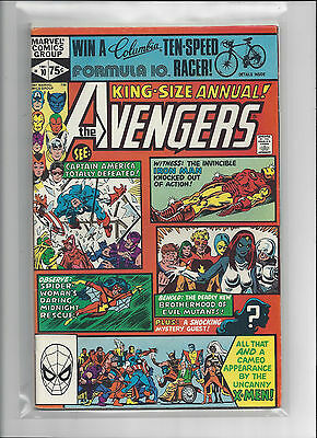 Avengers Annual #10 (1981, Marvel Comics) VF ROGUE