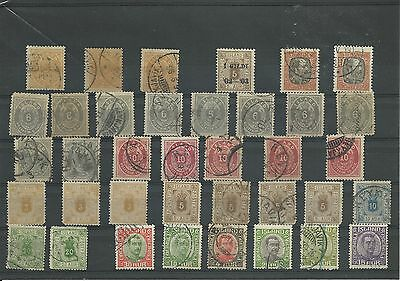 Duplicated lot of early Iceland mostly used