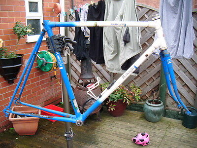 raleigh dyna tech frame and forks 2055 tubing use as is or restore