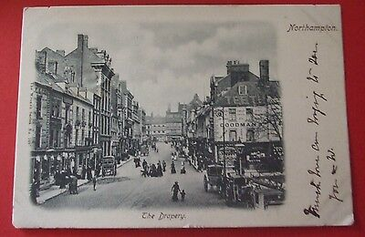 WRENCH SERIES Postcard POSTED c.1903 THE DRAPERY NORTHAMPTON NORTHAMPTONSHIRE