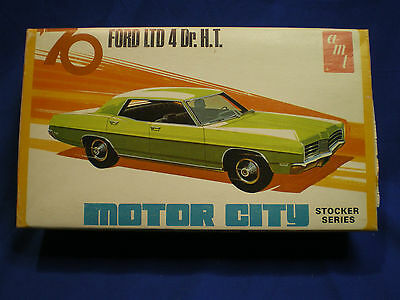 "1970 Ford LTD by AMT ""Motor City Stocker Series"" built factory stock /box # X851"