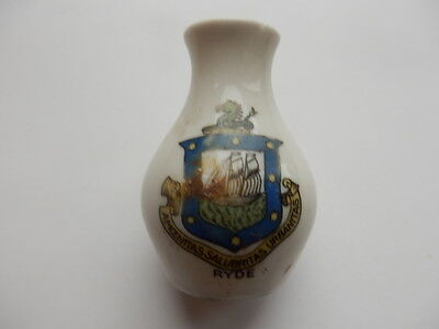 crested china ryde isle of wight