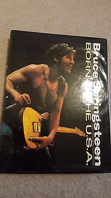 Bruce Springsteen Born In The USA book