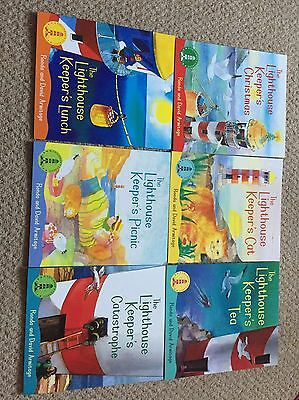 The Lighthouse Keeper Children's Book Set Of 6