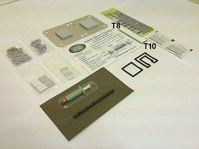 Xbox 360 Hybrid eXtreme Uniclamp™ RROD Repair Kit (w/ Tools + eXtras) XClamp Fix