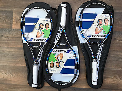 3x Babolat Pure Drive Tennis Rackets - Grip Size UK 3 - BRAND NEW + CARRY BAGS!!
