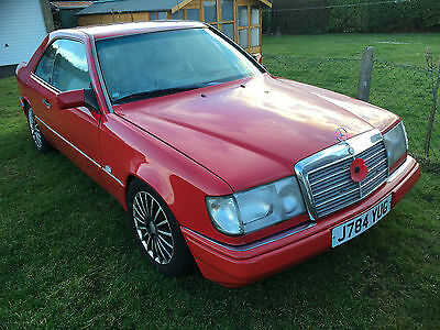 Mercedes 230CE Coupe Red Automatic