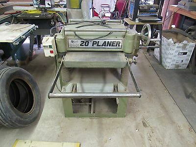 """Grizzly Model G1033 20"""" Planer"""