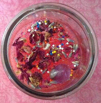 Amourous Devotion Come To Me Altar Moon Magick Wicca Witchcraft Love Candle