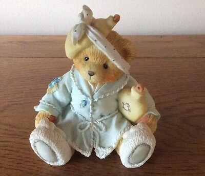 Collectable 1994 Cherished Teddies Kiss the Hurt Teddy Bear Ornament
