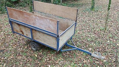 Garden trailer with tow hitch 5ft by 3ft