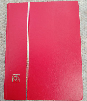 United Kingdom Used Stamp Collection in Red Album