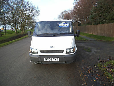 ford transit 2006 06 plate low mileage