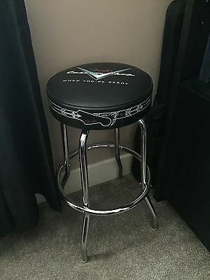 "Fender 30"" Custom Shop Pinstripe Design Bar Stool Guitar Stool"