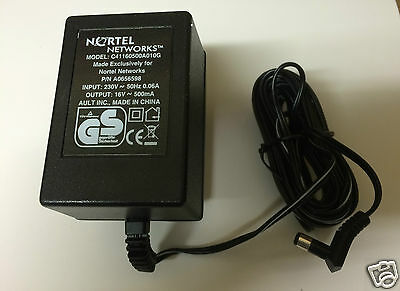 Nortel C41160500A010G 16v 500Ma A0656598 Power Adapter Charger Supply - NEW