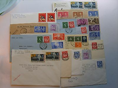 First Day Covers, Stamps, Stamped Covers, (All sold as seen) See Pics