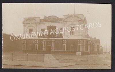 Manchester Suburbs The Devonshire Pub Stockport Road Ardwick Real Photo