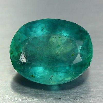 24.885 Ct Genuine Natural Ultra Rare Nice Wow Fine Blue Green Fluorite Unheated