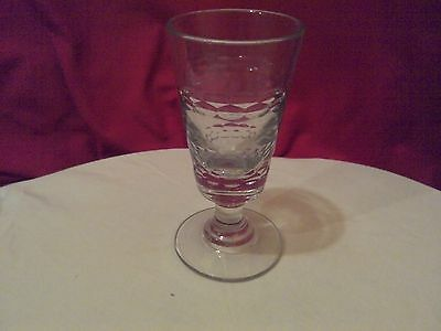 Verre A Absinthe Ancien.taille.