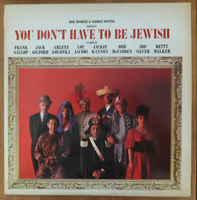 Bob Booker & George Foster - You Don't Have to be Jewish Vinyl lp CDL 8502