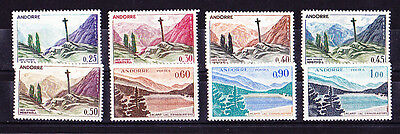 Andorre  8  Timbres Neufs++