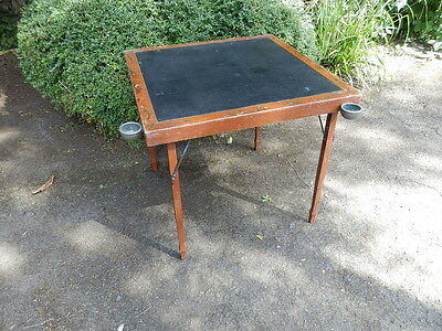 Games table, Chinoiserie card table, folding