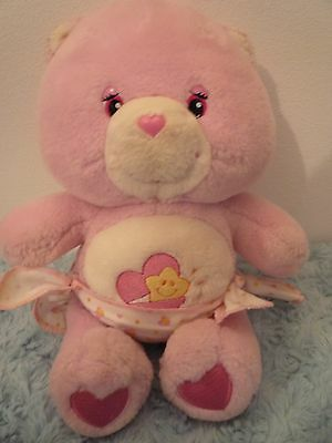 Vintage Hugs Girl Baby Care Bear 2002