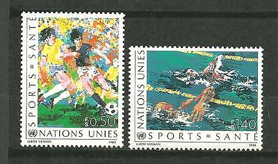 Timbres neufs** - NATIONS UNIES  Genève 169-70