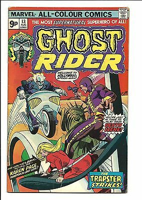 GHOST RIDER (Vol.1) # 13 (AUG 1975), VG/FN
