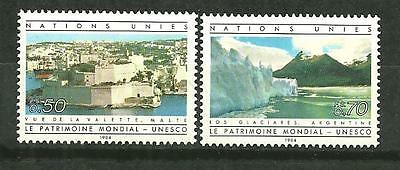 Timbres neufs** - NATIONS UNIES  Genève 122-23