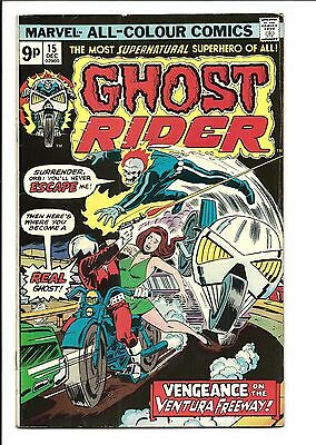 GHOST RIDER (Vol.1) # 15 (DEC 1975), VG/FN