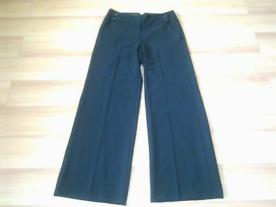Ladies Smart Black Trousers With 4 Button Design Size Standard Uk 10,12,14,16,20