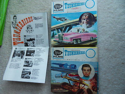 Super 8 film Gerry Anderson Thunderbirds x 2 Colour and B/W