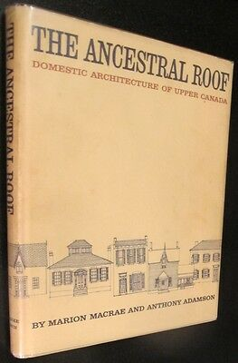 Upper Canada Architecture, House Book,Many floor plans & Detail drawings,Photos