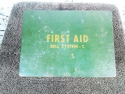Vintage Bell Systems First Aid Kit C