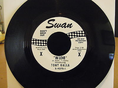 northern soul Tony Galla  In Love Swan 2nd issue