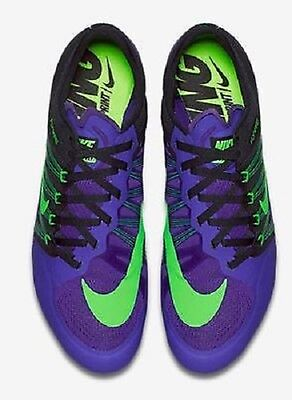 Nike Zoom Ja Fly 2 Sprint Spikes Track & Field Purp Size 7.5 With Tool & Spikes