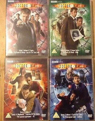 Dr Who DVD - Series 3