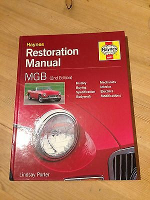 HAYNES MGB RESTORATION MANUAL (2nd Edition)