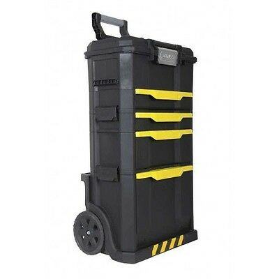 Carrello Porta Attrezzi Porta Utensili Stanley Rolling Workshop Set Mobile 3 In