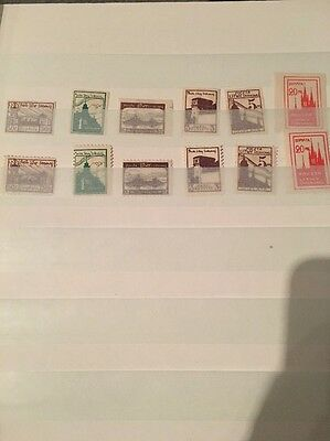 Litwa Srodkowa Central Lithuania Postage Due Stamps
