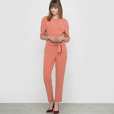 R Studio Womens Belted Jumpsuit