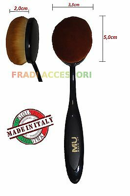 Pennello a spazzola fondotinta makeup brush ovale applicatore trucco viso MU